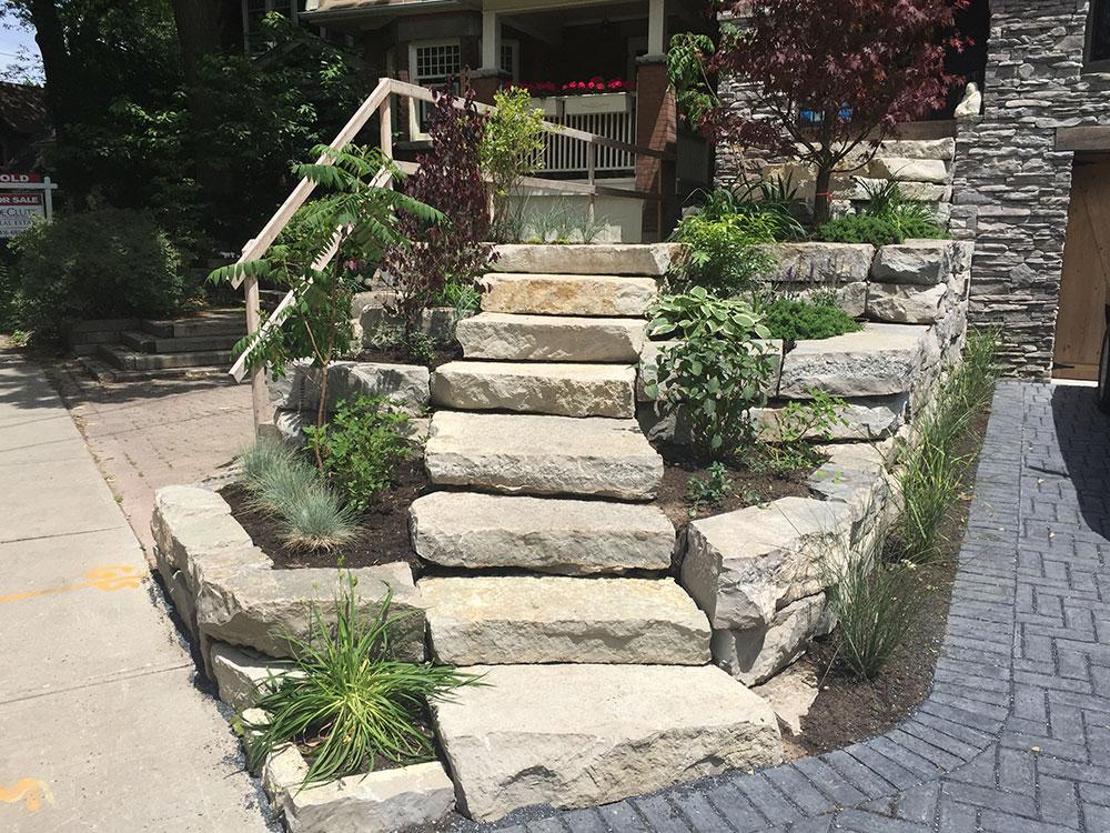 stone steps toronto