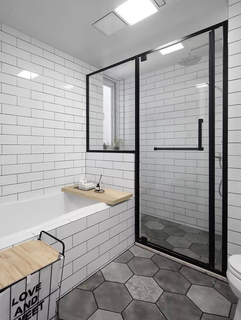 contemporary bathroom toronto by green side up contracting