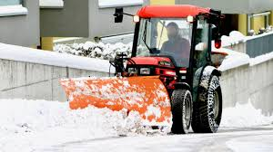 snow removal richmond hill by green side up contracting