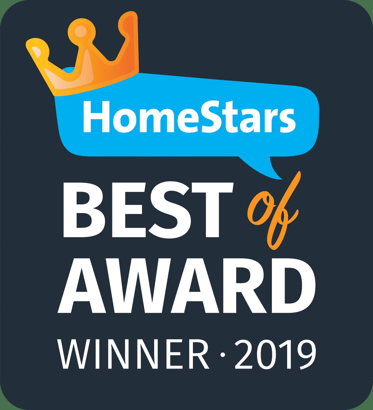 BOA2019 Homestars award