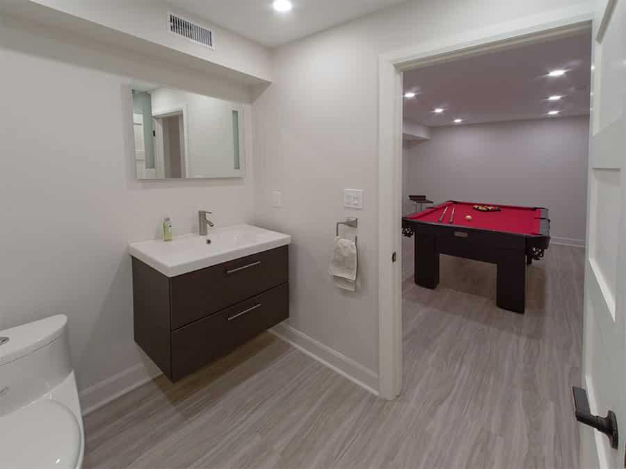 basement bathroom toronto