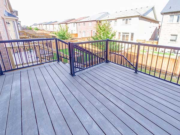 trex deck toronto by green side up contracting