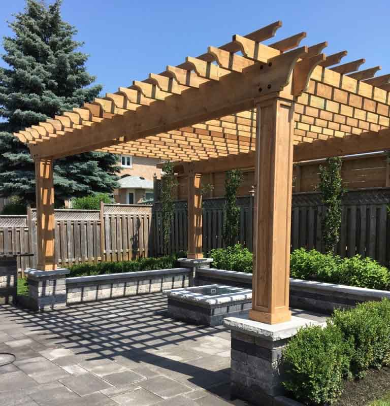 pergola by green side up contracting