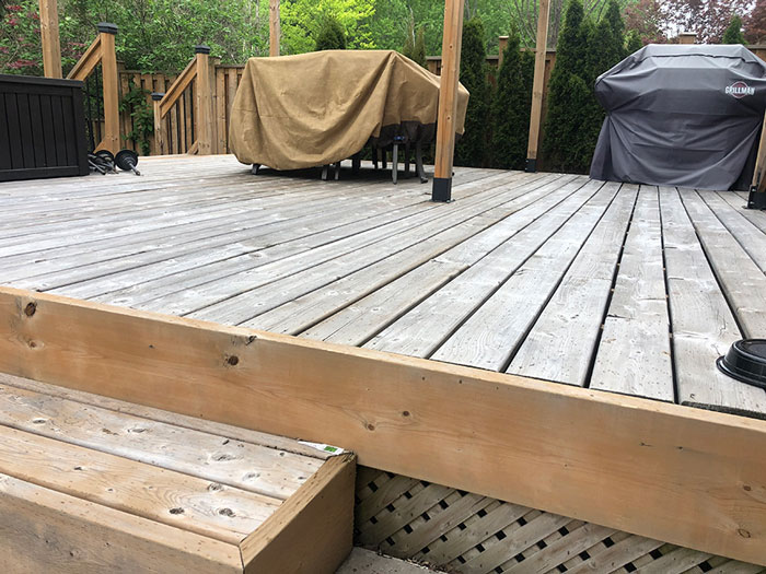 pressure treated pine deck toronto