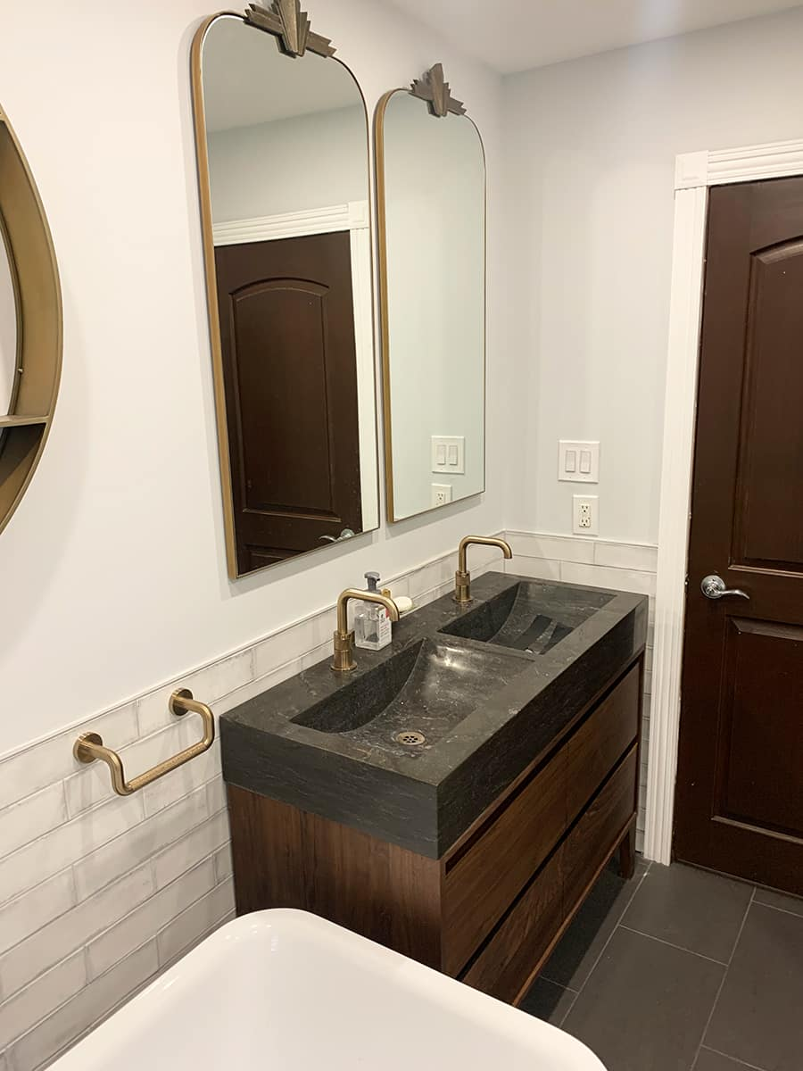 double vanity sink toronto