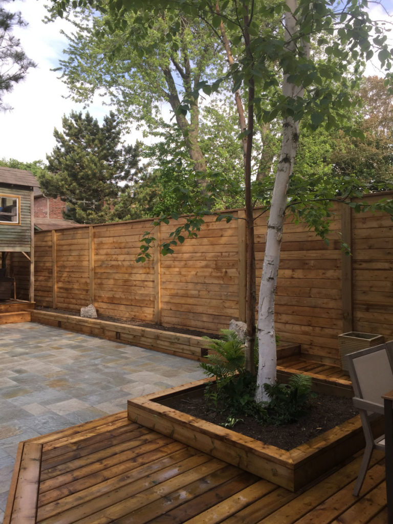 horizontal fence toronto