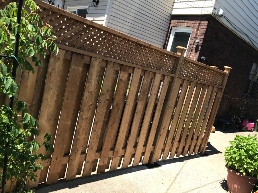 lattice fence toronto