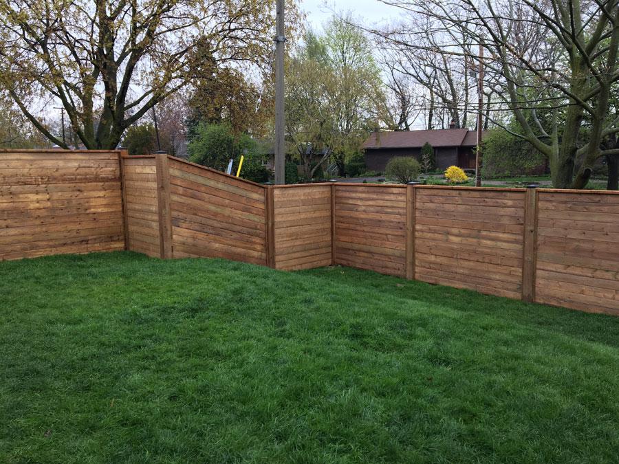 privacy fence toronto
