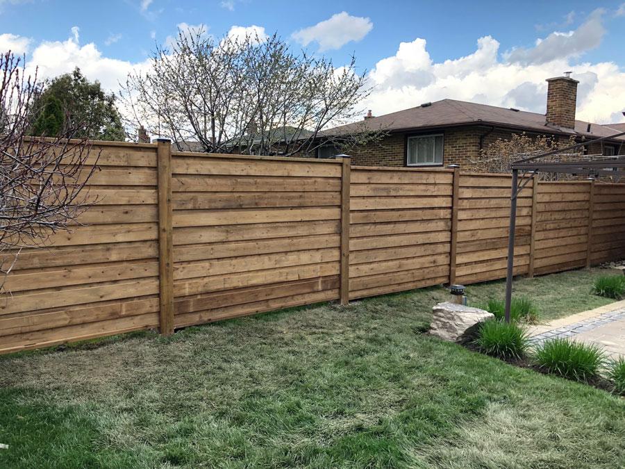 privacy fence aurora