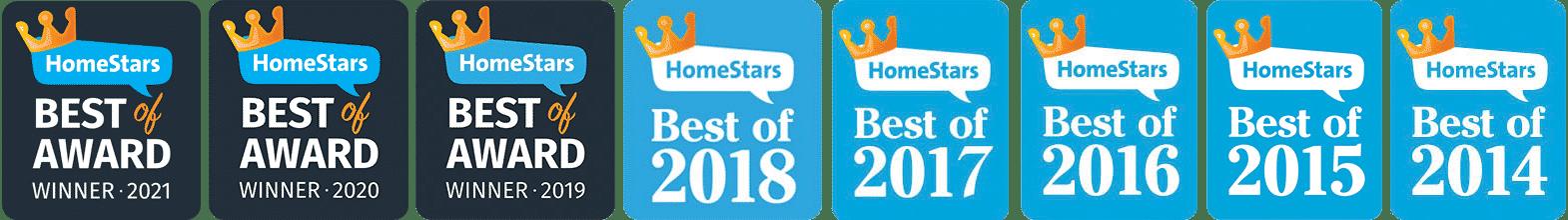 Toronto HomeStars Award Winning Contractor